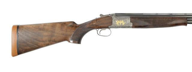 A 12-bore 'Model 425 Grade 6' single-trigger over-and-under ejector gun by Browning, no. 27321PP