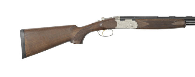 A 20-bore 'Silver Pigeon S' single-trigger over-and-under ejector gun by P. Beretta, no. R78955S