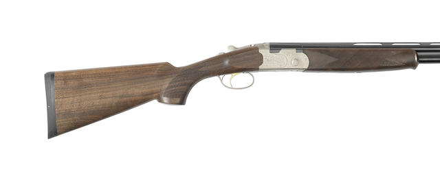A 20-bore 'Silver Pigeon S' single-trigger over-and-under ejector gun by P. Beretta, no. R74834S