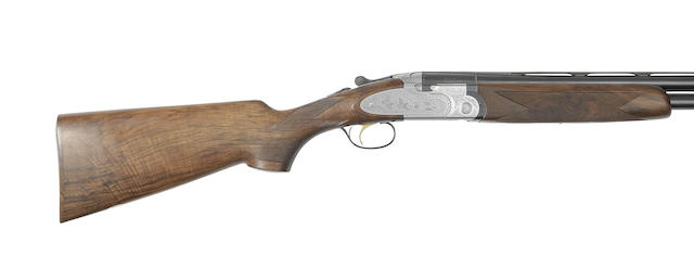 A Giovanelli-engraved 12-bore '687EELL' single-trigger over-and-under ejector gun by P. Beretta, no. E40840B