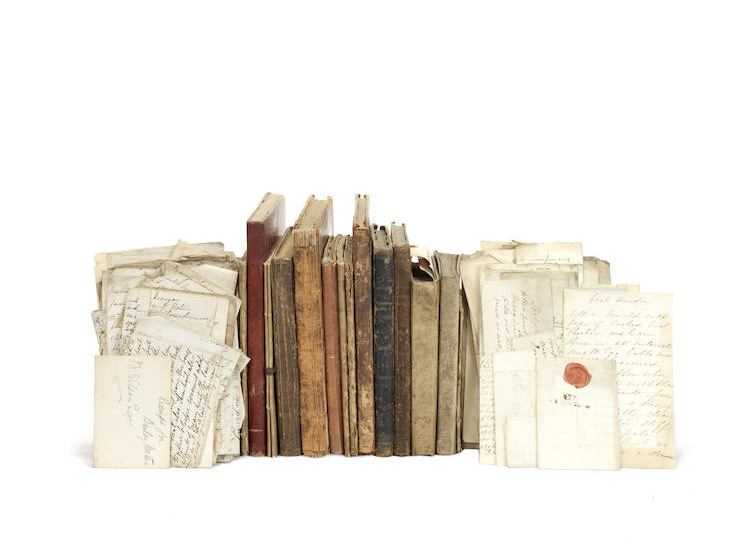 A small collection of approximately a dozen manuscript recipe books