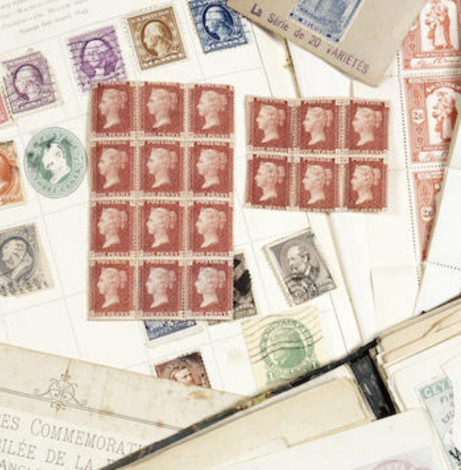 An all-world general collection of stamps in mixed condition