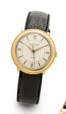 Jaeger-LeCoultre. A gold plated manual wind wristwatch