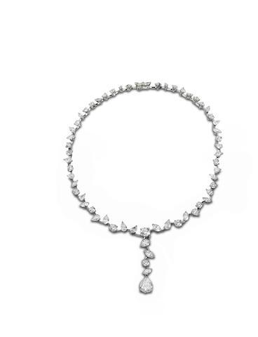 A diamond 'Cocktail Fizz' necklace
