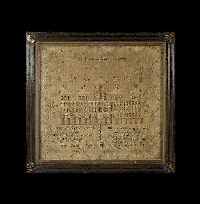 An early 19th century needlework sampler