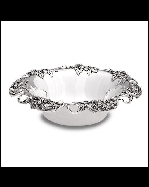 Tiffany; A silver bowl