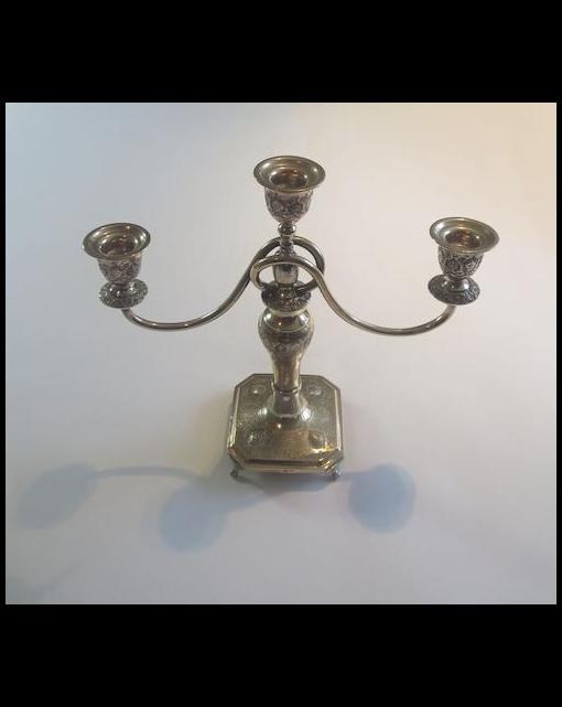 A 20th century Persian/Iranian candelabrum