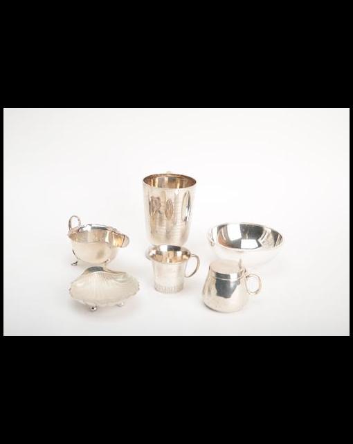 A Danish silver bowl by Hans Hansen