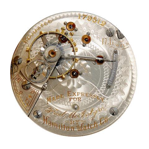 Hamilton. Two interesting private label watches
