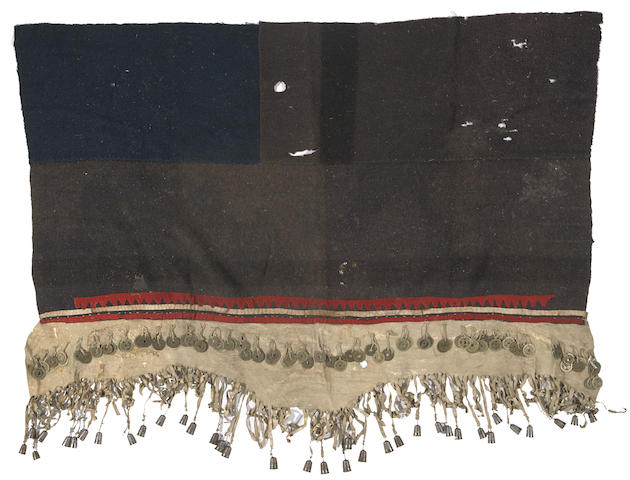A Northwest Coast dance skirt
