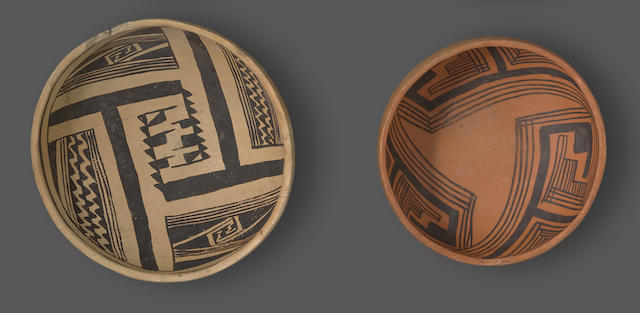 Two Anasazi bowls