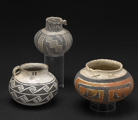 Three Anasazi jars
