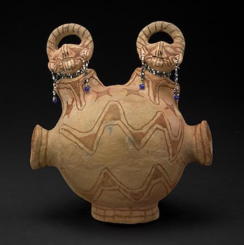 A Maricopa effigy vessel