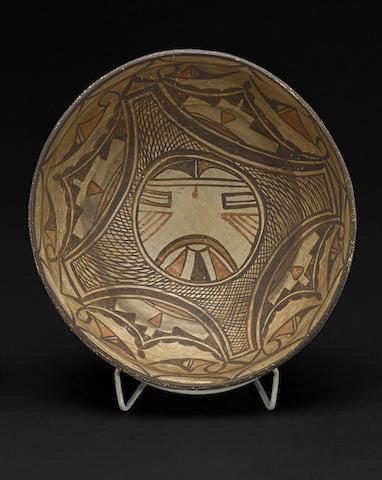 A Polacca polychrome bowl