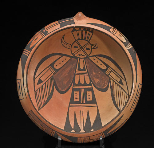 A Hopi polychrome bowl