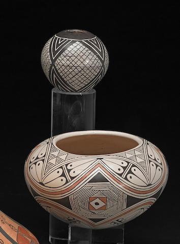 Two Hopi jars