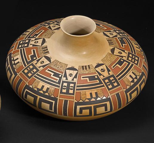 A Hopi polychrome jar