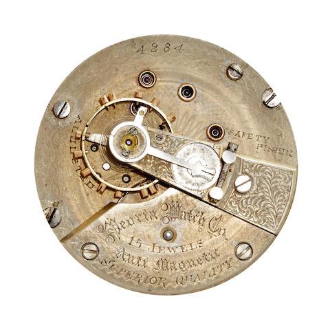 A rare hunter cased watch