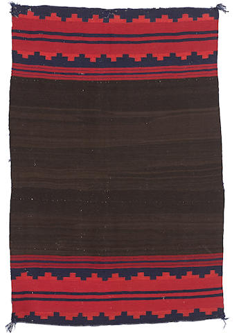 A Navajo late classic dress panel