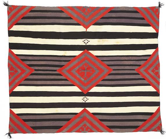 A Navajo Germantown chief's pattern rug