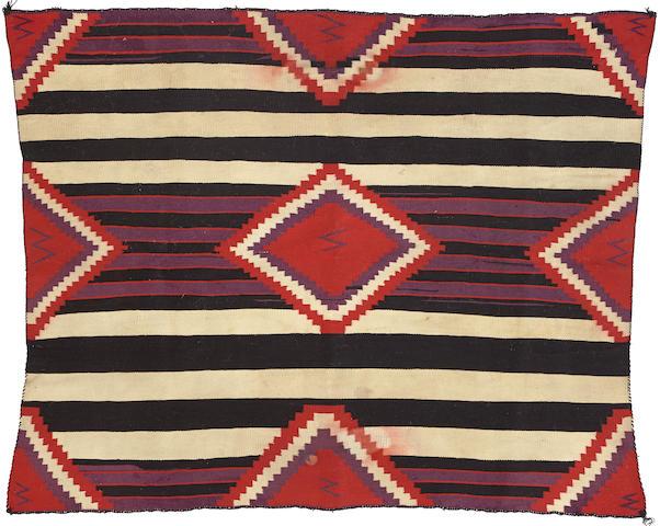 A Navajo Germantown chief's weaving