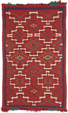 A Navajo Germantown rug
