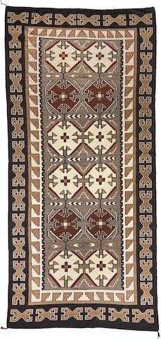 A large Navajo Teec Nos Pos rug