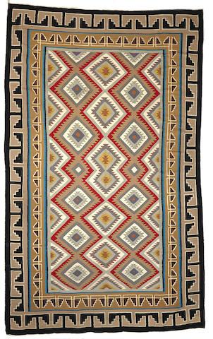 A large Navajo Red Mesa rug