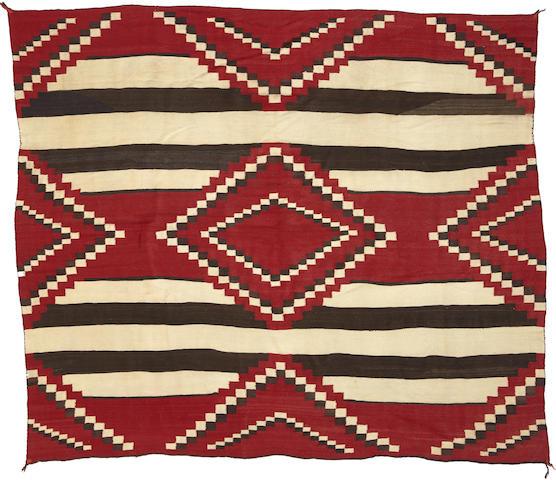 A Navajo chief's pattern rug