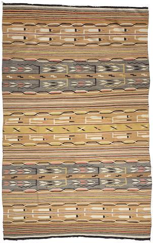 A large Navajo Eastern Reservation pictorial rug