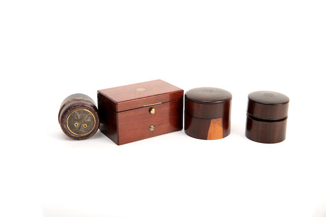 A small collection of inkwells