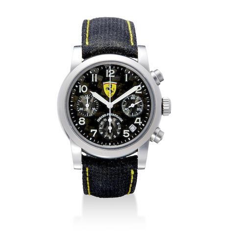 A titanium automatic Ferrari chronograph