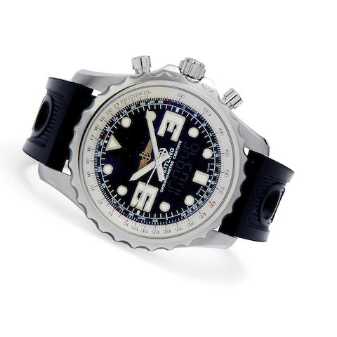 A stainless steel digital / analog chronograph
