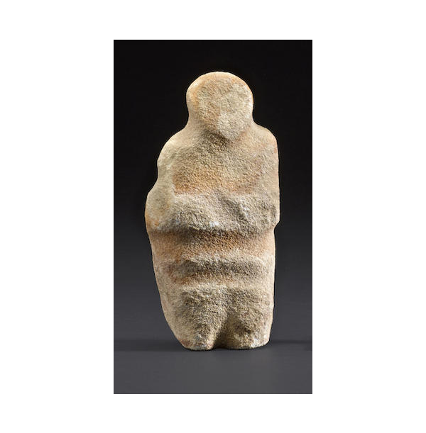 An ancient Southwest stone human effigy