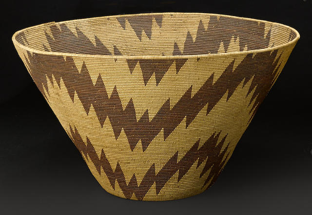 A Maidu cooking basket