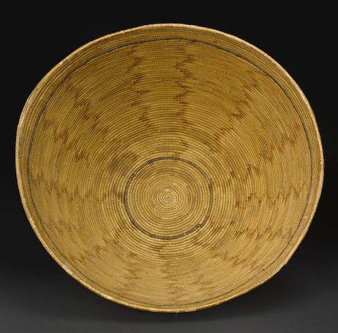 A Mission polychrome basket
