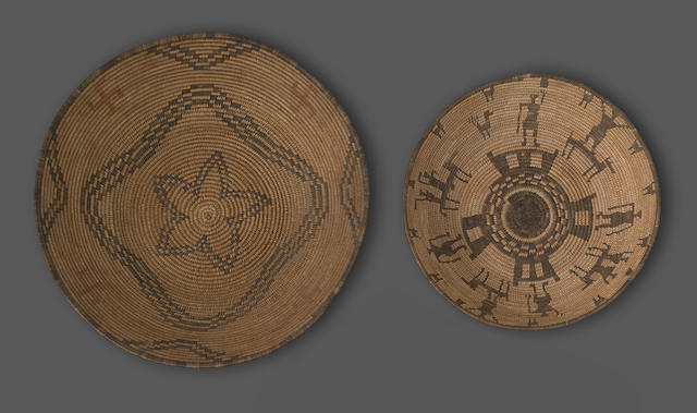 Two Apache trays