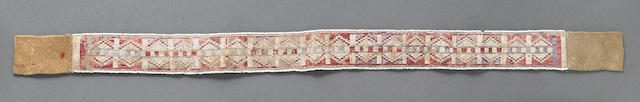 A Cree quilled strip