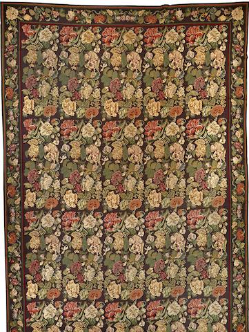 A European needlepoint carpet