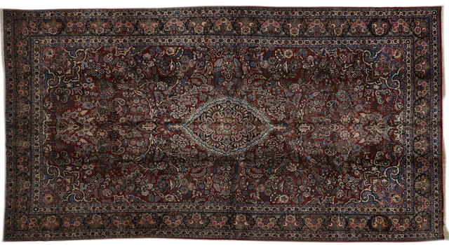 A Kazvin carpet