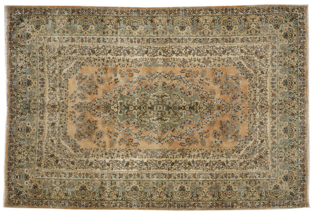 A Kerman rug
