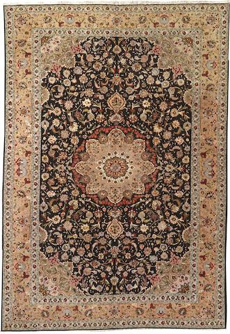 A Contemporary Tabriz carpet