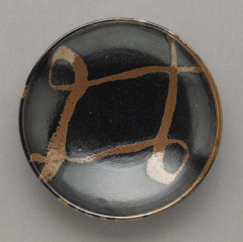 A stoneware dish