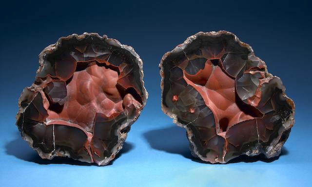 """Crater"" Agate Split Nodule"
