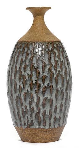 A Raul Coronel stoneware lamp base