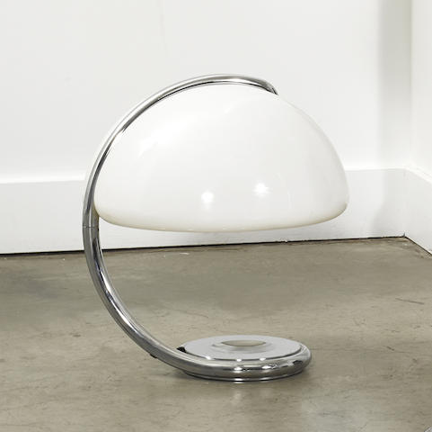 a model 599 table lamp