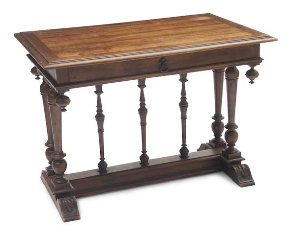A Louis XIII style table