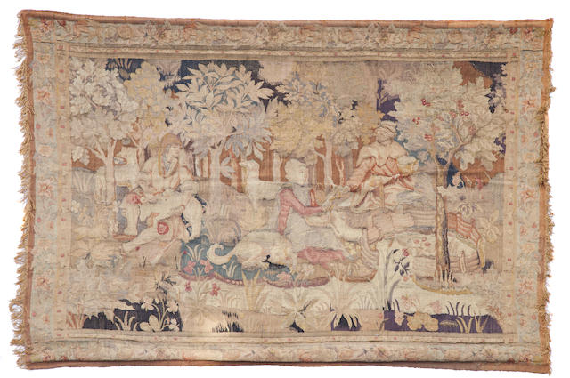 A Flemish woodland tapestry