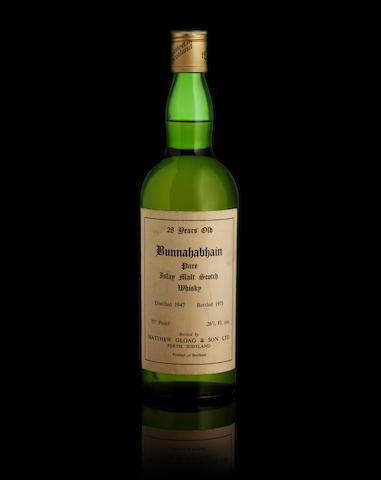 Bunnahabhain-28 year-old-1947