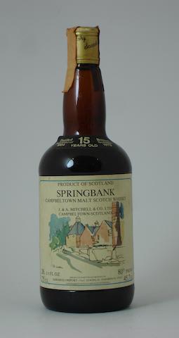 Springbank-15 year old-1964